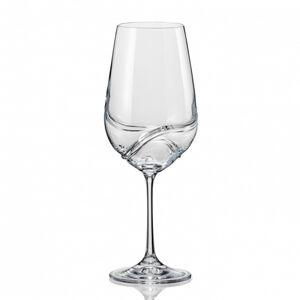Crystalex Sklenice na víno TURBULENCE 350 ml, 2 ks