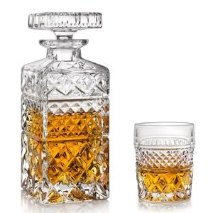 Crystal Bohemia MADISON whisky set (1+6)