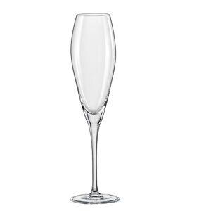 Crystalex-Bohemia Crystal Crystalex Sklenice na sekt Bravo 220 ml, 6 ks