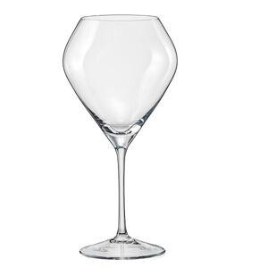 Crystalex-Bohemia Crystal Crystalex Sklenice na víno Bravo 620 ml, 6 ks