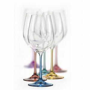 Crystalex Sklenice na víno VIOLA Spectrum 350 ml, 6 ks