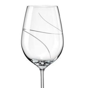 Crystalex-Bohemia Crystal Crystalex Sklenice na víno VIOLA UP 350 ml, 2 ks