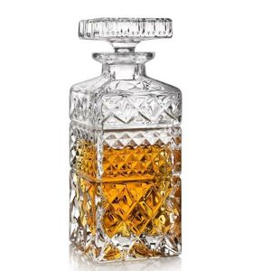 Crystal Bohemia Karafa na whisky MADISON 0,6 l