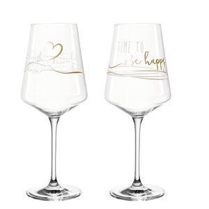 Leonardo PRESENTE HAPPY sklenice na víno 560 ml, 2 ks