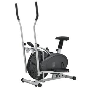 2 in 1 Crosstrainer a Ergometer fitness přístroj
