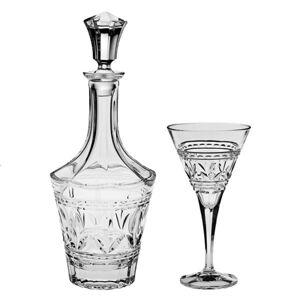 Crystal Bohemia set na víno Tulip (1+6)