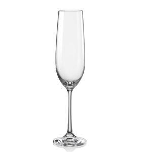 Crystalex Sklenice na šumivé víno VIOLA 190 ml