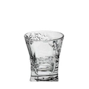 Crystal Bohemia Sklenice na whisky SAMURAI 240 ml, 6 ks
