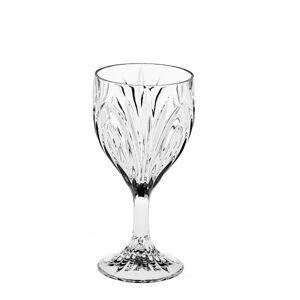 Crystal Bohemia Sklenice na víno ELISE 220 ml, 6 ks