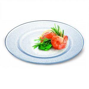 Simax Skleněný talíř FROZEN 320 mm