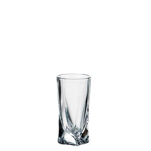 Crystalite Bohemia Sklenice QUADRO 50 ml, 6 ks
