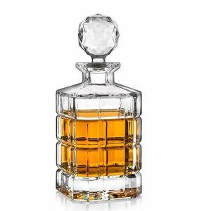 Crystal Bohemia Karafa na whisky TIMESQUARE 0,8 l