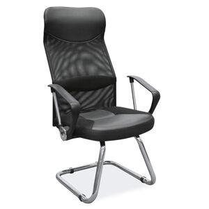 Kancelářská židle Q-030 černá