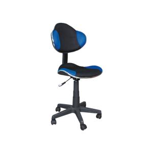 Kancelářská židle Q-G2 modro/černá
