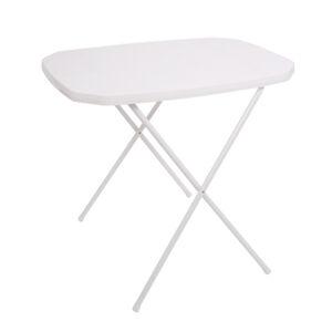 Dajar Stůl CAMPING 53 x 70 - bílý