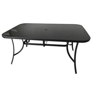 Rojaplast Stůl  T1012T (ZWT-150) - černé sklo